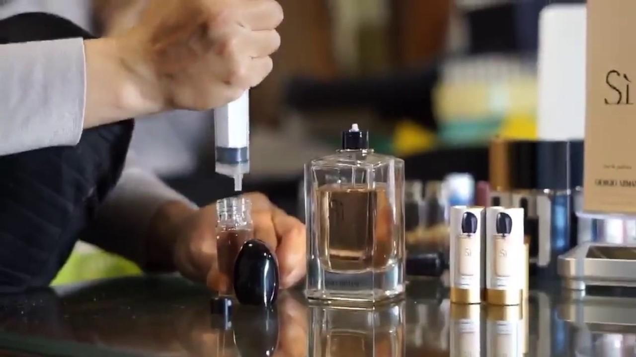 Hướng dẫn cách chiết nước hoa bằng kim tiêm để không lãng phí - 269324