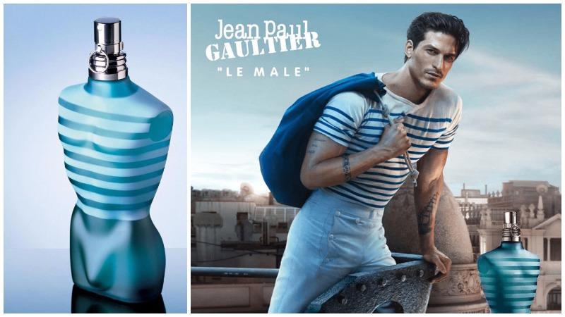 Nước hoa nam Le Male by Jean Paul Gaultier với thiết kế bắt mắt cuốn hút