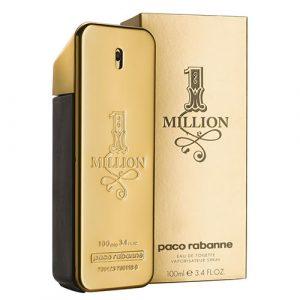 Dòng nước hoa cho nam Paco Rabanne One Million EDT.