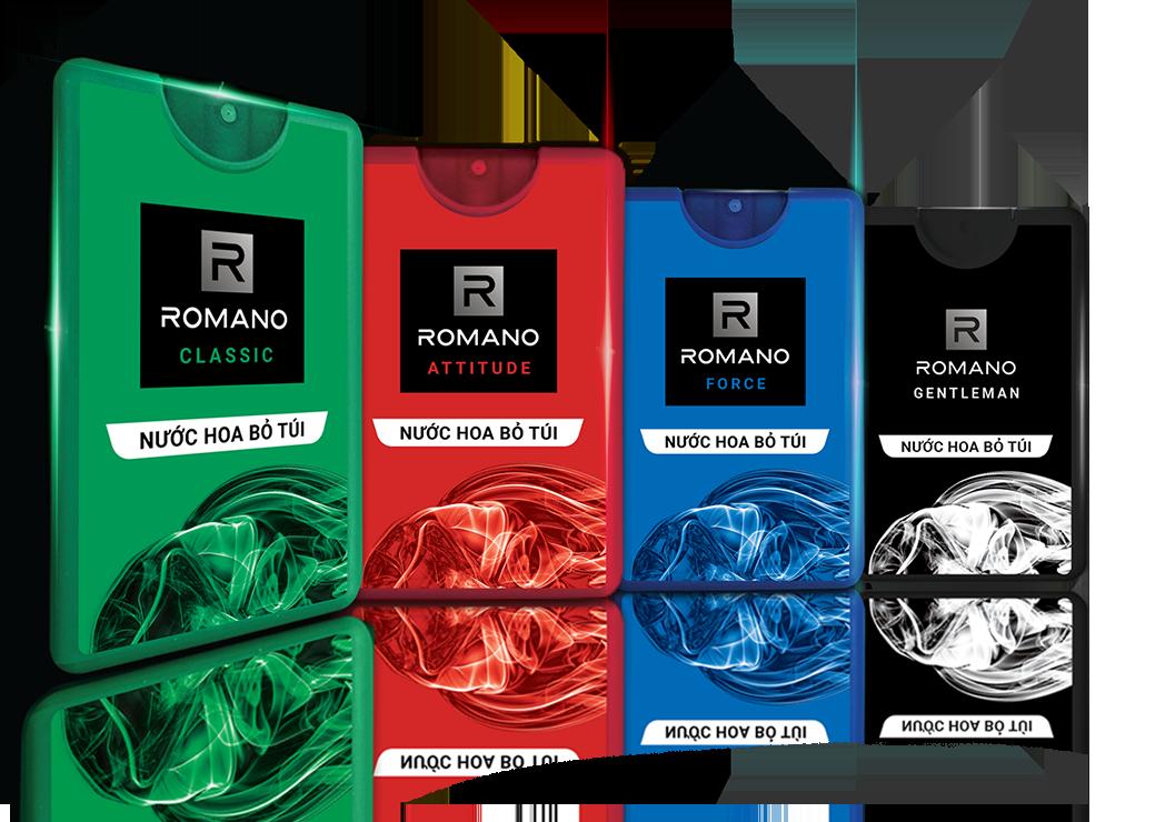 Cùng khám phá nước hoa Romano với 3 mùi hương mới hấp dẫn - 286941