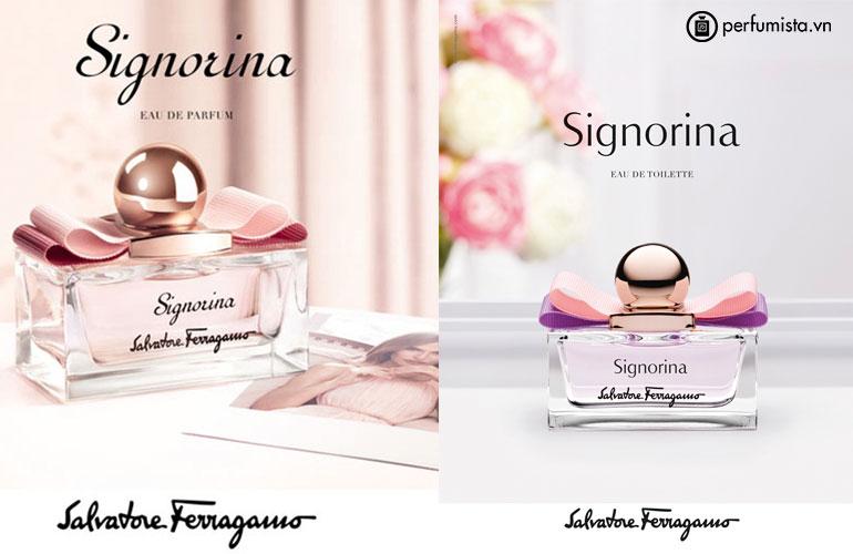 Nước hoa Signorina quyến rũ với hương hoa cỏ