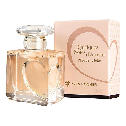 Nước hoa Yves Rocher đến từ Pháp đầy lãng mạn