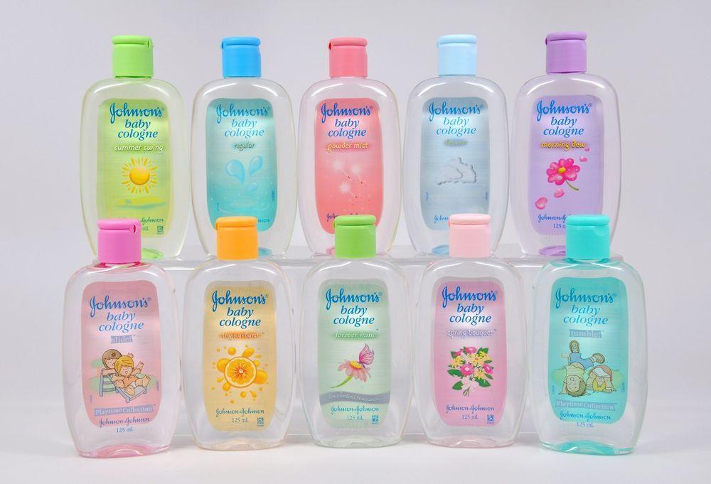 Nước hoa Johnson Baby mùi hương nhẹ nhàng cho bé yêu