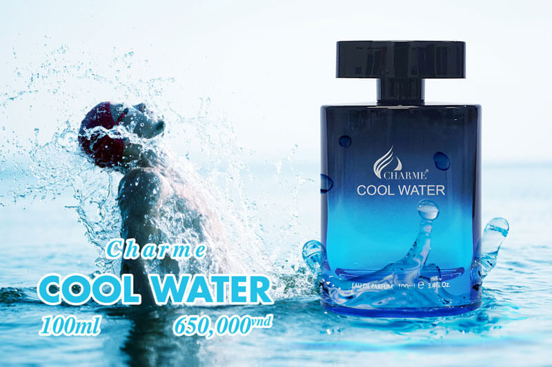 Thiết kế Charme Cool Water 100ml